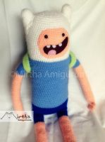 Finn the human by Mirtha Amigurumis by MirthaAmigurumis