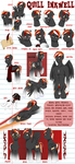 Quill Inkwell Official Reference sheet (NSFW) by Art-forArts-Sake