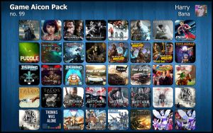 Game Aicon Pack 99 by HarryBana