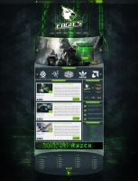 Eagle gaming template - FOR SALE by pdesign97