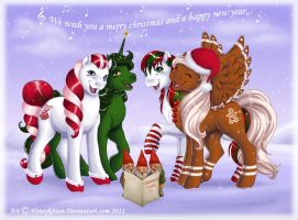 Merry Christmas by Honeykitten