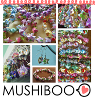 Origami Star Jewelry by Mushiboo