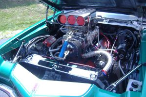 the engine of the Z28 by eliteracer
