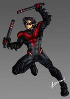 Nightwing by ADL-art