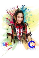 Alicia Chanzia JKT48 team K Gad's Photo Paint by Muhammadtaufiq123
