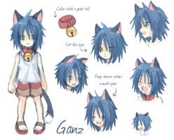 Character Reference - Ganz by Laudine