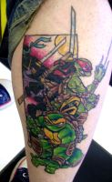 Ninja Turtles Tattoo by Dreekzilla