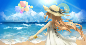 Summer Breeze by meiruuu