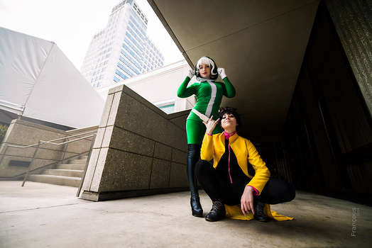 Rogue and Jubilee by WindoftheStars