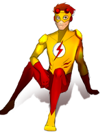 kid flash by Diligit-Miseria