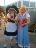 AX'11: Marisa and Alice by theEmperorofShadows
