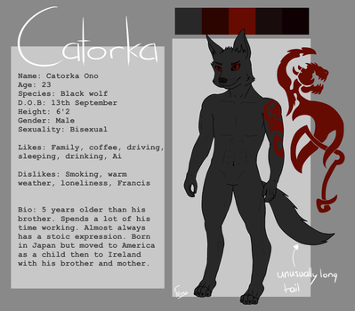 Catorka - reference by fernothedragon