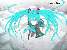 Love is War by Bejowish