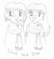 Sirius and Star by melodythelittlepony