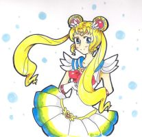 Sailor Moon - Usagi by Kikulina