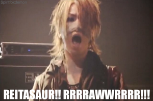 Beware of the Reita-saur by spiritfoxdemon