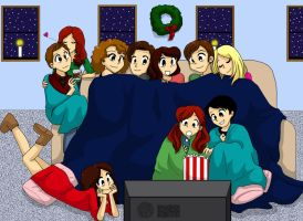 2012 Christmas Day Three: Doctor Who by BlueSeptember