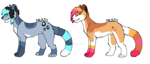 Feline Adoptables 2 :CLOSED: by Falkz-Adopts