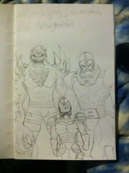 Apocalypse/ Doomsday/ and Armageddon by sparkssummons01