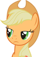 Applejack, Why so serious? by KurosakiSoarin