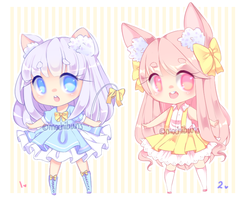 Fluffy adopts - CLOSED - by mochibuns