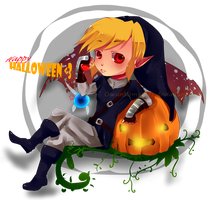 Happy Halloween ! by Niina-xan