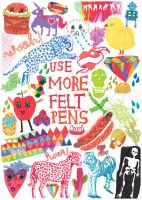 use more felt pens by tattoosoftears