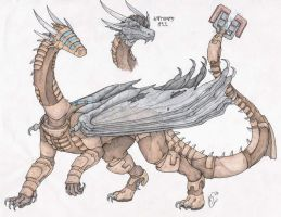Dragonized Isaac Clarke by RaptorBarry