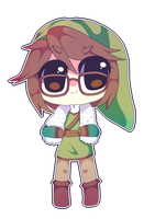 Fluffy Link by Xyleigh