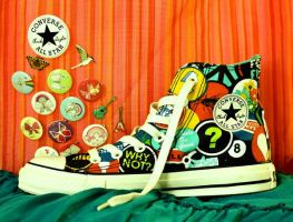 Converse - Badges by nandiamond