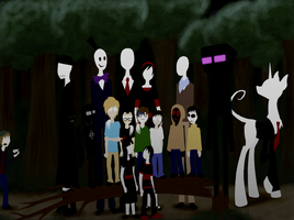 Slendy Family Reunion by InsanelyADD