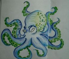 Octopus again by morgoththeone