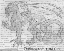 JABBERWOCKY - The Jabberwock by I3-byUsagi
