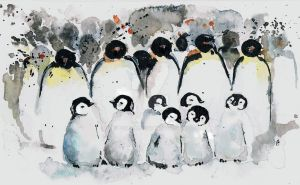 penguins by bemain