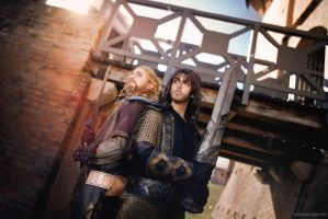 Lord of the rings - Fili and Kili by EduardLuzhetskiy