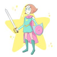 Pearl Knight by leanzaofearth