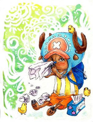 One Piece - Chopper with a cold by lyoth737