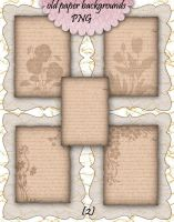 Old Paper Backgrounds 2 by roula33