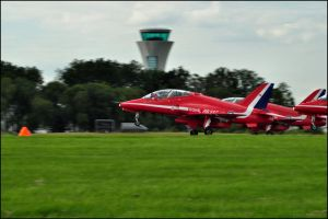 Red Arrows take off 4 / FAS 2012 by Somebody-Somewhere