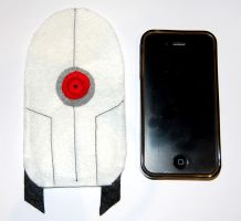 Portal Inspired Cellphone bag by knil-maloon