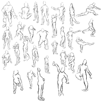 Gesture Drawing 2 by radstylix