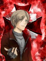 Leon Kennedy: Holdin Blood Out by LeonsBlackValkyrie94