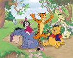 Pooh friends by Real-Warner