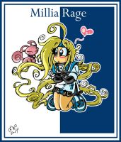 Go, go widdle Millia Wage by GreenWiggly