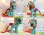 Patchwork Custom Pony by saucycustoms