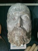 Albert Pike Death Mask by 44NATHAN