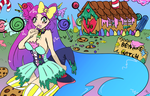 Hansel, come to my candy house. by SweetAbril