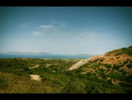 Hills of Kardamena I by Beezqp