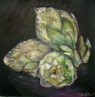 Just Artichokes by Schnellart