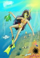 Snorkeling bliss by TheReza13